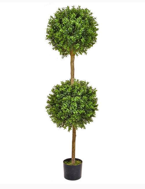 150cm Double Buxus Ball Tree